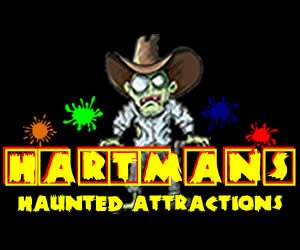 hartmans haunted corn maze zombie paintball hunting